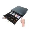 ลิ้นชักเก็บเงิน แบบใช้มือเปิด (Cash Drawer) 4 ช่องธนบัตร 8 ช่องเหรียญ (IN-48KM)