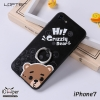 LOFTER iRing Cartoon Case #2 - Bear (iPhone7+)