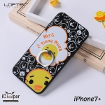 LOFTER iRing Cartoon Case #2 - Duck Black (iPhone7+)