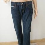 ( สินค้าพร้อมส่ง) กางเกงยีนส์ขายาว เอว - 25-27 นิ้ว สะโพก - 34-38 นิ้ว ความยาวกางเกง 39 นิ้ว