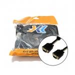 XLL สาย VGA 3+6 สีดำ ยาว 5 เมตร