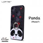LOFTER iRing Cartoon Case #1 - Panda (iPhone7+)