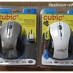 (พร้อมส่ง) เม้าส์ไร้สายCP-1039 Wieless Mouse 2.4 GHz Standard ระยะห่างได้ 10 เมตร รับประกันสินค้า 2 ปี
