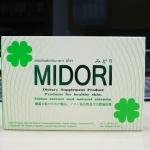 Midori มิโดริ ผลิตภัณฑ์เสริมอาหารเพื่อผิวขาวใส อย่างเป็นธรรมชาติ