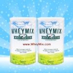 Whey Mix Protein Vanila Flavor เวย์มิกซ์ รสวนิลา ชุด 2 กระปุก