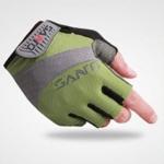 ถุงมือ SANTO สีเขียว