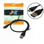 สาย USB 3.0 A ตัวผู้ / USB 3.1 C ตัวผู้ ยาว 0.5 เมตร
