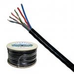 XLL LAN CABLE CAT 5E + DC (สายไฟ) 500M (สาย LAN CAT5E + สายไฟ ความยาว 500 เมตร)