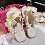 (Pre Order) ร้องเท้าแตะเดอะบีชฤดูร้อนมาใหม่ของสาวๆซูเปอร์นางฟ้ารองเท้าแตะ ตกแต่งด้วยดอกไม้สวยมาก มีสีเดียว ไซส์ 36-38