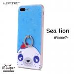 LOFTER iRing Cartoon Case #1 - Sea Lion (iPhone7+)