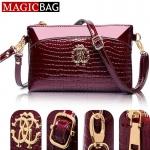 (Pre Order) ออกแบบ MAGICBAG femininas Bolsas จระเข้แบรนด์กระเป๋าถือผู้หญิงกระเป๋าคลัทช์กระเป๋าสะพายสตรีหนังกระเป๋าถือกระเป๋า messenger มีสีให้เลือก 3 สี