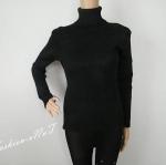 ( สินค้าพร้อมส่ง) เสื้อกันหนาวแขนยาวสีดำมือสองสภาพสินค้าดีมากไม่มีตำหนิ อก - 34-36 นิ้ว เอว - 25-30 นิ้ว สะโพก - 34-40 นิ้ว ความยาวของเสื้อ 28 นิ้ว