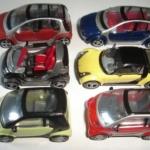 Model Car สเกล 1:87 ชุด 6 คัน