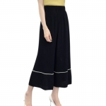 (Pre Order) กางเกง ผู้หญิงฤดูร้อน กางเกงลำลองกางเกงขากว้างเอวสูงชีฟองพิมพ์กระโปรงกางเกงมีความยืดหยุดสูงใส่สบาย ขนาดสินค้าฟรีไซส์ มี สี 4 ให้เลือก