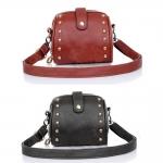 (Pre Order) Malloom มินิที่มีชื่อเสียงกระเป๋าแบรนด์หรูแฟชั่นกระเป๋า มี 2 สีให้เลือก ดำ,น้ำตาล