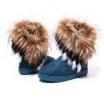 (Pre Order) รองเท้าบูทขนสัตว์สใส่ลุยหิมะได้บู๊ทบู๊ทส์ในช่วงฤดูหนาว มี 3 สี น้ำตาล,เขียว,ดำ, ไซส์ 36,37,38,39,40