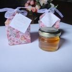 กล่องกระดาษ ลายดอกไม้ + น้ำผึ้ง 1 ออนซ์