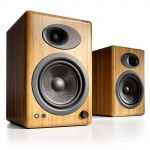 Audioengine A5+Solid Natural Bamboo