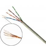XLL สาย LAN CAT 5e UTP Cord CABLE ( แกนทองแดงฝอย ) 24AWG-4P 305 เมตร/Roll