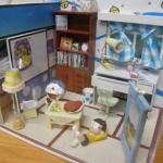 DIY ห้องโดเรมอน+โนบิตะ (ประกอบเสร็จแล้ว)