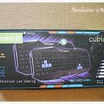 (พร้อมส่ง) คีย์บอร์ด Advanced Led Gaming Cubic Keyboard