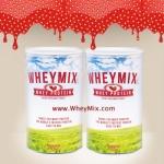 Whey Mix Protein Strawberry Flavor เวย์มิกซ์ รสสตรอว์เบอรรี่ ชุด 2 กระปุก