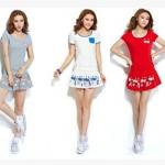 (Pre Order) ชุดเซ็ทขนาดสินค้า - M,L,XL,XXL มี 3 สี เทา,ขาว,แดง