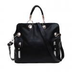 (Pre Order) กระเป๋าถือสำหรับผู้หญิงแฟชั่นเย็น Retro สไตล์เลดี้กระเป๋าสะพายกระเป๋าถือ วัสดุหนัง PU สินค้ามีสีเดียว