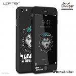 LOFTER Cartoon Full Cover - Mr. Husky (iPhone6+/6s+)