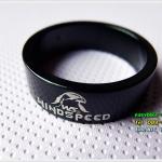 แหวนรองคอ WINDSPEED ขนาด10 มม./สีดำ