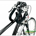 แฮนด์ผีเสื้อปรับระดับได้-พับได้ ERGOTEC AHS Premium / สีดำ 31.8 OVER นะ