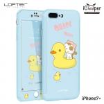 LOFTER Cat Full Cover - Quack Quack (iPhone7+)