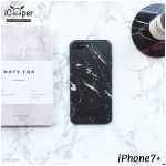 Marble Case - Black (iPhone7+)