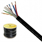 XLL LAN CABLE CAT 6 4*2*0.55mm.+DC 2*0.75mm. 300M