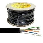 XLL LAN CABLE UTP CAT5e+Sling 500M