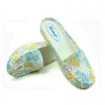 (Pre Order) รองเท้าลายดอกไม้ฤดูร้อนดอกไม้พิมพ์รองเท้าแตะ มี 3 สีให้เลือก ไซส์ 36-40