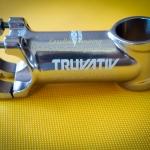 คอแฮนด์(Stem) TRUVATIVE สีเงินไททาเนียม (Oversize)