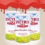 Whey Mix Protein Strawberry Flavor เวย์มิกซ์ รสสตรอว์เบอรรี่ ชุด 3 กระปุก