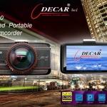 กล้องติดรถยนต์ ยี่ห้อ DECAR DVR-F10 เลนส์แก้ว 6 ชั้น พร้อมส่ง