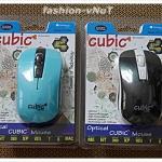 (พร้อมส่ง) เม้าส์คอมพิวเตอร์ USB รุ่น CP-T1040 สินค้ามี 2 สี ฟ้า,ดำ สินค้ารับประกัน 2 ปี