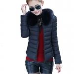 (Pre Order) แจ็คเก็ตผู้หญิงฤดูหนาวเสื้อผู้หญิงแฟชั่น เสื้อคอปกขนสัตว์ใส่สบาย ๆ อบอุ่นเสื้อคลุม มี 3 สี ดำ,เขียว,แดง ไซส์ M,L,XL,XXL
