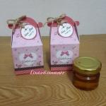 น้ำผึ้งขนาด 30 ml.แพ็กกล่องสีชมพูน่ารัก
