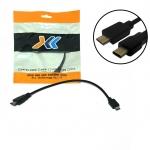 สาย USB 2.0 Micro to USB 3.1 Type C ยาว 0.2 เมตร