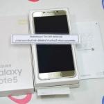Samsung Galaxy Note 5 64 GB Gold platinum