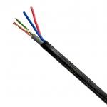 XLL LAN 4 + DC (สายไฟ) CABLE 100M (สาย LAN 4 เส้น+สายไฟ 100 เมตร)
