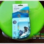 ถุงเท้าสำหรับจักรยาน-วิ่ง-เดินป่า /SANTO สีฟ้าเข้ม
