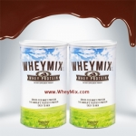Whey Mix Protein Chocolate Flavor เวย์มิกซ์ รสช๊อคโคแลต ชุด 2 กระปุก
