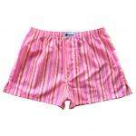 กางเกงบ๊อกเซอร์ผู้ชายลายทางสีชมพู