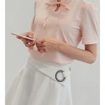 (Pre Order) เสื้อแฟชั่นเกาหลี แขนสั้นเสื้อเนื้อผ้าบางเบาใส่สบายๆไม่ร้อนเสื้อท็อปส์หรูหราลูกไม้ขึ้นชีฟองเสื้อB Lusas SF261 เสื้อมี 3 สี น้ำงเงิน,ชมพู,ขาว ขนาด S,M,L,XL,XXL