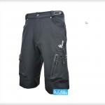 กางเกงขาสั้น ARSUXEO เนื้อผ้าแห้งเร็ว./ สีดำ
